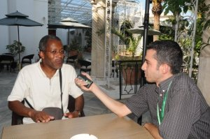 Interview de Patrick Bebey à Alger