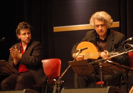 Axivil Aljamia: Felipe Sánchez Mascuñano (Oud) et Pedro Sanz (Chant)