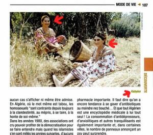 kabyles dans la nature