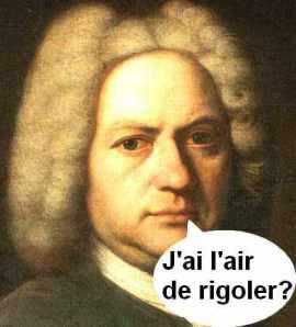 J.S. Bach rigole