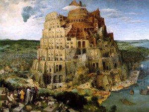 La tour de Babel par Brueghel l'Ancien