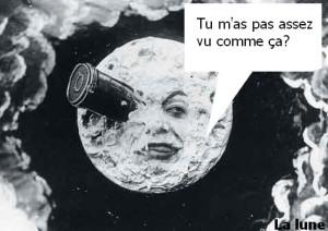 Voyage dans la lune. Film muet de Georges Melies