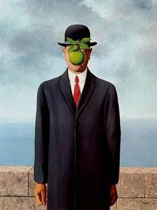 Magritte; Le fils de l'homme